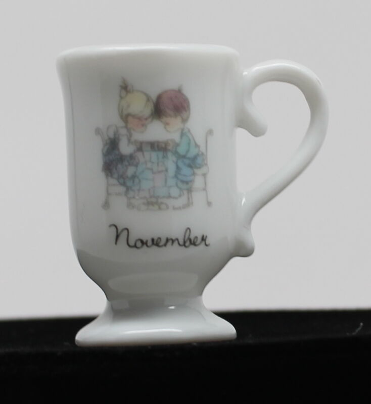 Precious Moments Month Miniature Mug November
