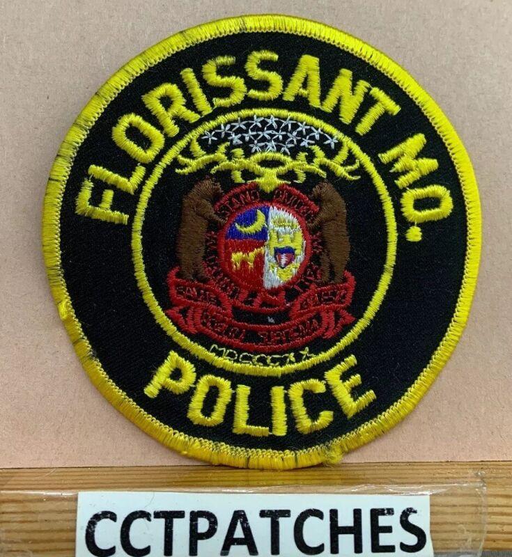 FLORISSANT, MISSOURI POLICE SHOULDER PATCH MO
