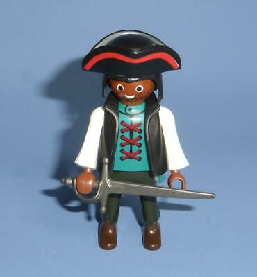 Playmobil Ethnic Pirate Captain Figure & Weapon for ship / boat / island