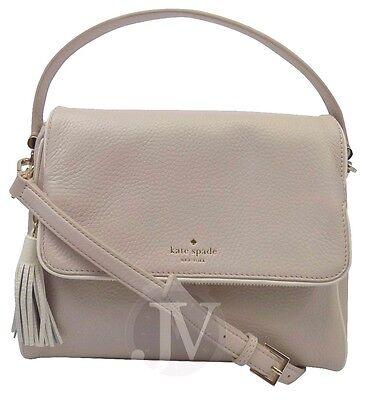 Nwt Kate Spade Miri Chester Street Pumice Leather Satchel Crossbody Bag Handbag