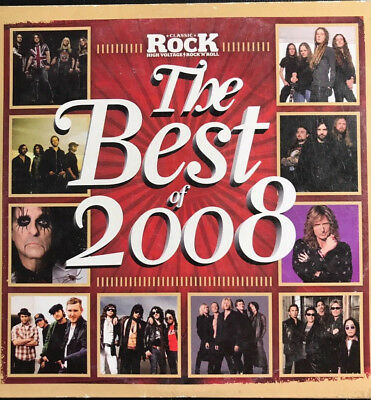 CLASSIC ROCK - THE BEST OF 2008 - CD 15 TRACKS GOOD CONDITION SLEEVE
