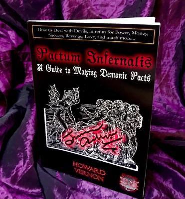 PACTUM INFERNALIS Howard Vernon Occult Magic Magick Spells Pact Devil Demonic comprar usado  Enviando para Brazil