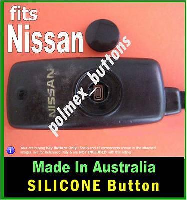 fits Nissan Navara remote key fob - 1 Repair Silicone key BUTTON