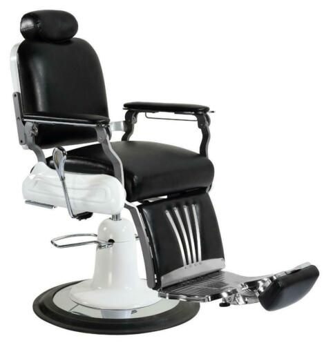 Professional High Quality Hydraulic Reclining Barber Chair Classic Vintage Style