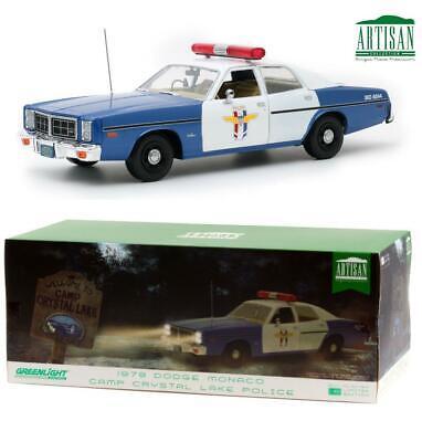 Greenlight 19068 1978 Dodge Monaco Crystal Lake Police Diecast Car 1:18
