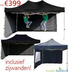 Professionele aluminium easy up partytent tent 3x3 3x4,5 mtr