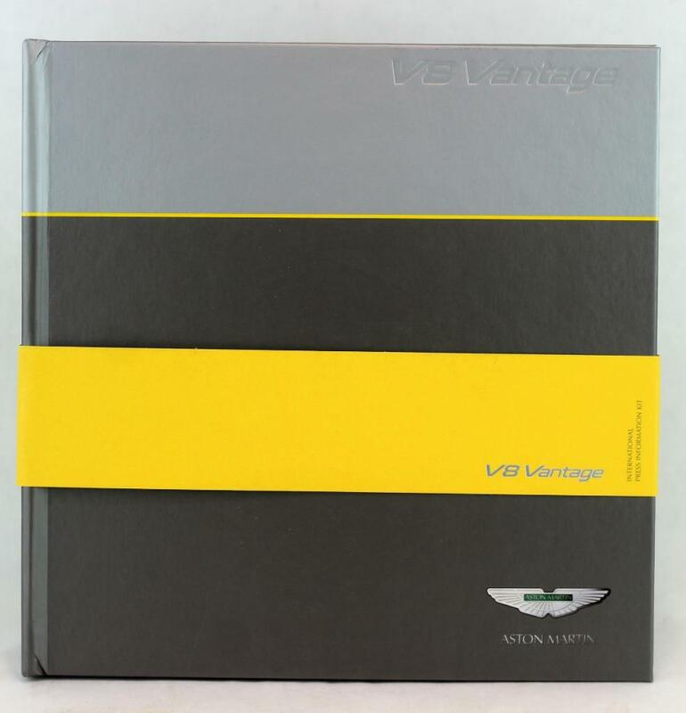 Aston Martin V8 Vantage 2005 Geneva Motor Show Press Kit Launch Brochure