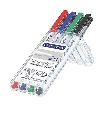 Staedtler Lumocolor Whiteboard Marker Pens - 4 Pack. New