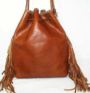 Leather Drawstring Bag | eBay
