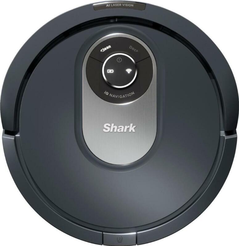 Shark AI Robot Vacuum RV2001 Self Cleaning Brushroll Object Detection WIFI GRAY-