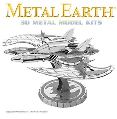 Fascinations Metal Earth 1989 Batman Batwing 3D Model Kit Bat Wing Jet