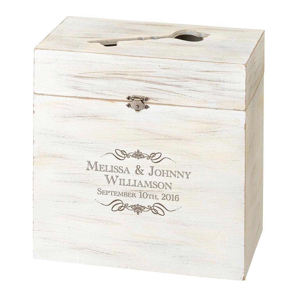 Lillian Rose Wooden Key Box Alternative Wedding Guest Boo...