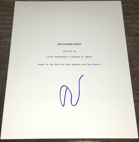 TOMMY WISEAU SIGNED AUTOGRAPH THE DISASTER ARTIST 113 PAGE SCRIPT w/EXACT PROOF