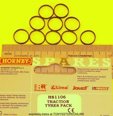 hornby international ho spare hs1106 1x pack traction tyres11mm approx hl2003/07