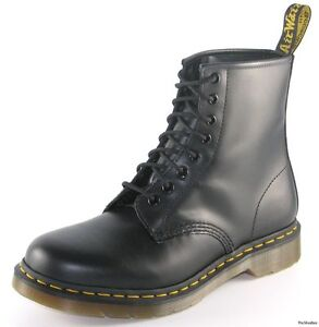 NEW-Dr-Doc-Martens-BLACK-1460-Boots-Size-UK-5-US-7-11821006