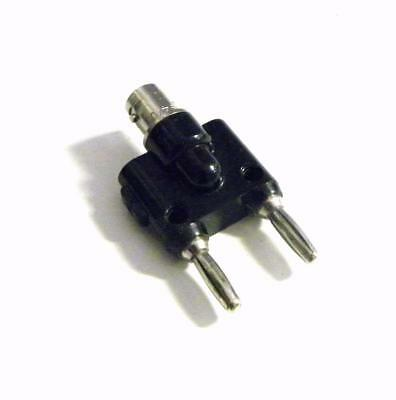 Pomona 1269 Bnc Male To Double Stacking Banana Plug Adapter 10 Available