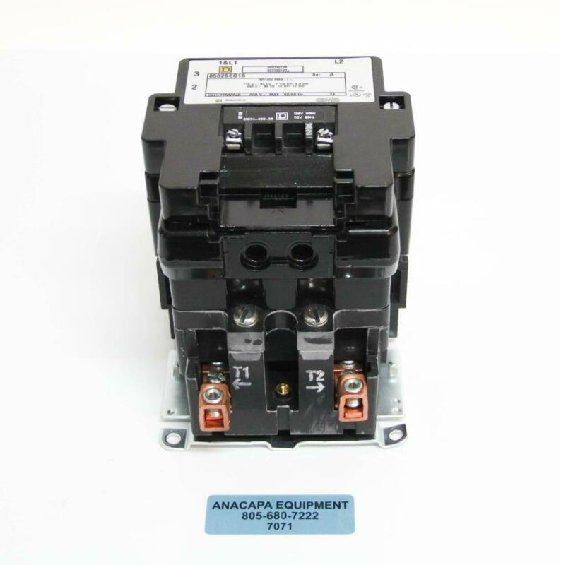 Square D 8502 SEO1 S Full Voltage AC Magnetic Contactor Type S + Auxiliary (7071