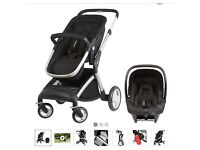 Mothercare Roam pram and car seat attachment with isofix