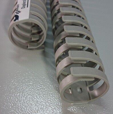 50cm Ø30mm FLEX Verdrahtungskanal halogenfrei Kabelführung PC Schreibtisch