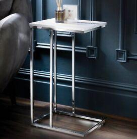 C Shape Side Coffee Table
