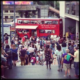 Mobile Pop-Up Bar & Restaurant On a London Double-Decker Bus For Sale