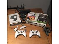 Xbox 360 With 2 Games + Accessories