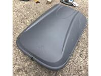 Halfords Roof Box with Thule Roof Bars