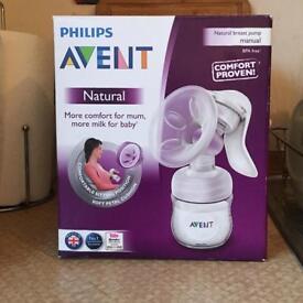 Philips Avent breast pump set