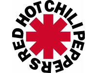 2 Standing Tickets for the Red Hot Chili Peppers - Hydro Glasgow - Thurs 8 December