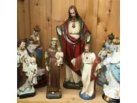 Various french religious statues for sale