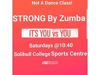 STRONG by Zumba workout in Solihull