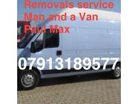 MAN &VAN , Student moves , REMOVALS