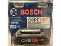 Bosch GBA18V40 CORE 18V Lithium-Ion Battery 4.0 Ah New in pack