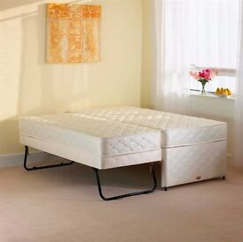 single Bed with under Guessed Bed as new condition