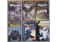 Batman: The New 52 Vol 1, 2, 3, 4, 5 & 6 Comics Collection Bundle. Like New.