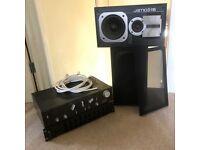 Technics Amp, Eq and Jamo Speakers