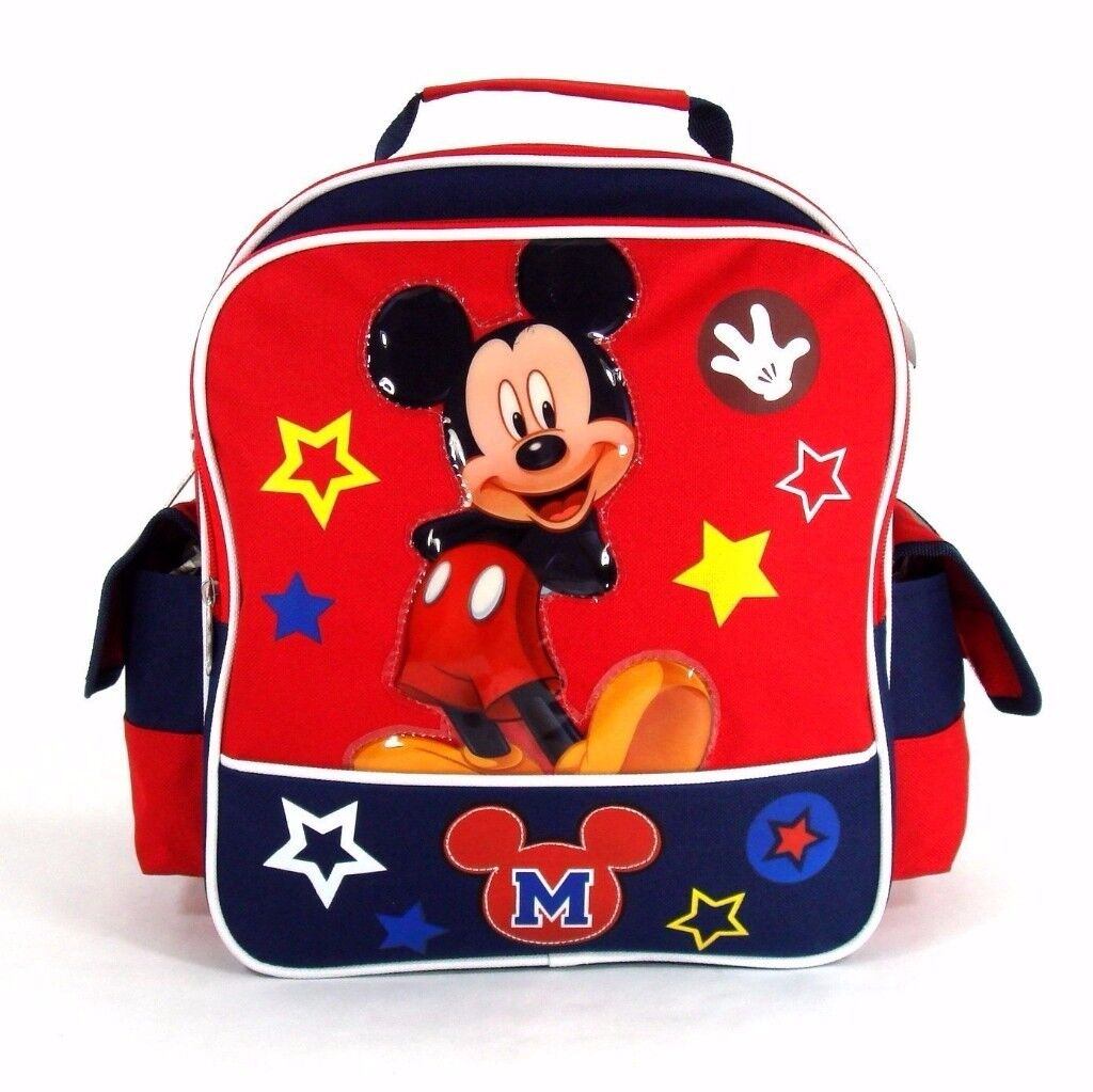 "Mickey Mouse Back 12"" Toddler Back Pack - Used"