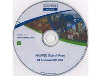 VDO SATNAV DISC CD RANGE ROVER MK3 L322, ROVER BMW, X3,X5 CITROEN UK NAVIGATION