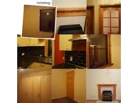 2 bedroom partially furnished lower flat GCH fleshly painted