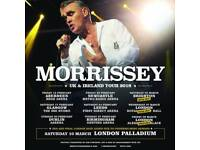 "Morrissey ""live"" at The Brighton Centre"