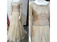Stunning Contemporary Dress Asian/English Wedding