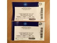 Red Hot Chili Peppers Concert Tickets 6th December