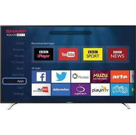 Sharp 40 Inch FULL HD LED SMART TV with Built in Freeview + 3 HDMI Ports – BNIB SMART TV