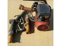 240 vlt used portable diesel pump