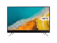 "NEW Samsung UE32K4100 32"" Inch HD LED TV Black FREEEVIEW HD USB 2016 Model"