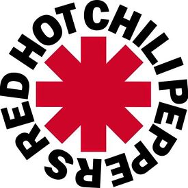 Red Hot Chili Peppers Live - The SECC Hydro Glasgow - 8th December 2016 - 2 tickets