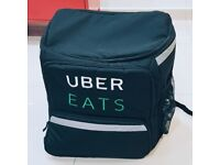 uber delivery backpack. perfect condition .