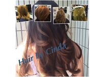 Mobile hairdresser fully qualified, cut, blow dry, colour, highlights, balayage.