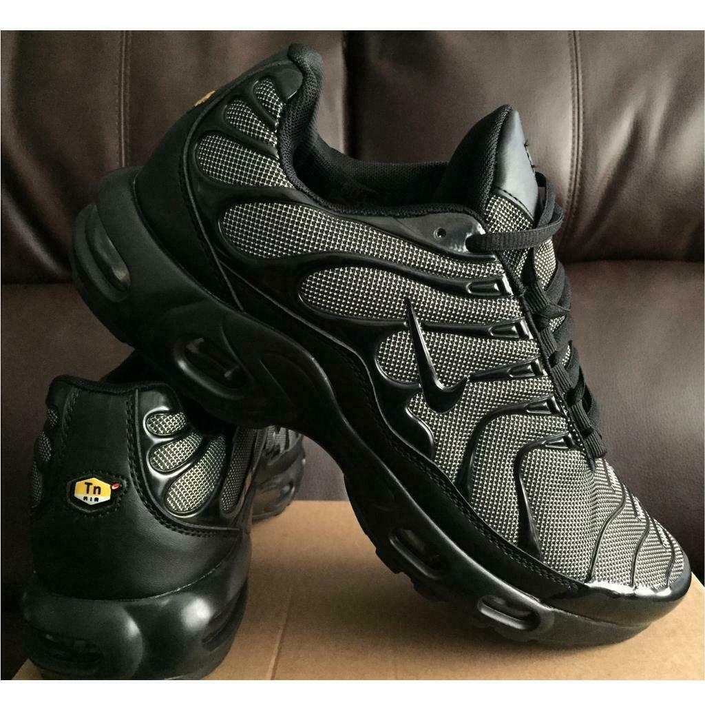premium selection 884c6 77a94 BRAND NEW NIKE AIR TNS PLUS BLACK AND GREY ANY SIZE NIKE TRAINERS VMS TIME  GOOD 75B   in Sandwell, West Midlands   Gumtree