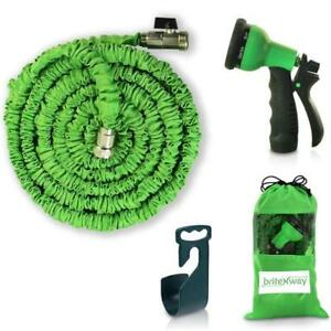 NEW briteNway Expandable Garden Hose - 50 ft. Retractable, Lightweight & Flexible
